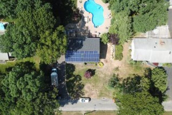 Center Moriches Solar Installation
